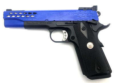 Army Armament R30-2 Custom M1911 GBB Pistol in Blue