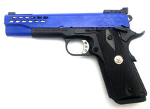 Army Armament R30-2 Custom M1911 GBB Pistol in Blue