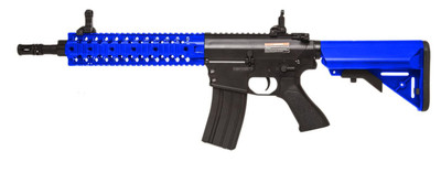Cyma CM501 M4 CQB With RIS Rail in Blue