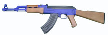 Cyma CM522 AK47 With Full Stock in Blue