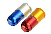 CYMA M061 - 40mm Gas Grenade 60 Round in Red & Yellow