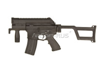 AY M4 CCC Tactical Pistol SD AEG with folding stock in Black