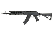 Cyma CM076 Keymod AK47 Full Metal With Adjustable Stock in Black