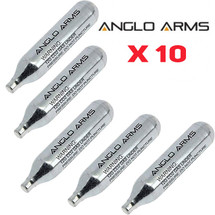 Anglo Arms CO2 Cartridge 10 x 12g