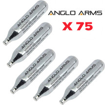Anglo Arms CO2 Cartridge 75 x 12g
