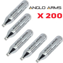 Anglo Arms CO2 Cartridge 200 x 12g