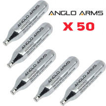 Anglo Arms CO2 Cartridge 50 x 12g