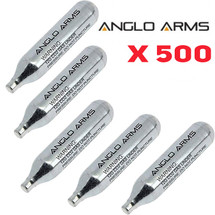 Anglo Arms CO2 Cartridge 500 x 12g