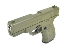 Galaxy G39 Full Scale Pistol in Full Metal in Green (Olive Drab)
