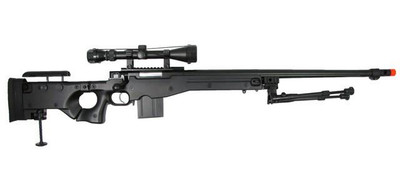 WELL MB4403D Spring Sniper Rifle in Black