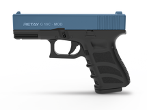 Retay G19C - 9MM Blank Firing Pistol in Blue