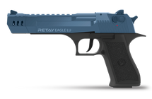 Retay Desert Eagle LU - 9MM Blank Firing Pistol in Blue