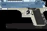 Desert Eagle XU - 9MM Blank Firing Pistol in Satin & Blue