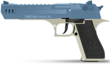 Desert Eagle XU - 9MM Blank Firing Pistol in Satin & Blue