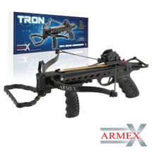 Armex Tron 80lb Self Cocking Pistol Crossbow with foregrip