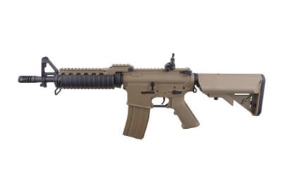 CYMA CM005 M4 RAS II CQB Full Metal AEG Airsoft Rifle in Tan