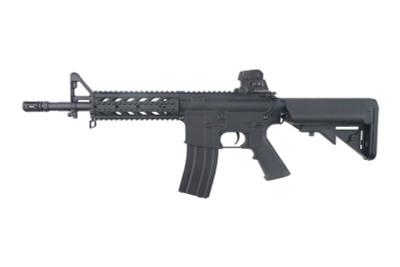 CM617 AR15/M4 RIS Airsoft gun in Black