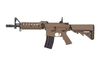 Cyma CM605 AR15/M4 RIS CQB Airsoft gun in Tan