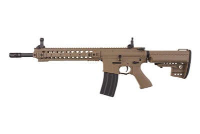 Cyma CM630 M4 URX III Airsoft gun in Tan