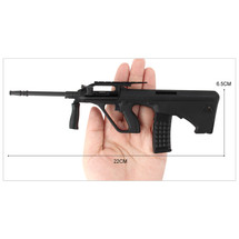 Steyr AUG Die Cast Toy Sniper Replica 3:1 scale in Black