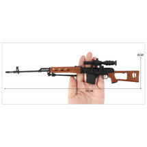 Russian Dragunov SVD Die Cast Toy Sniper Replica 3:1 scale
