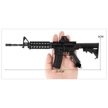 Colt M4A1 Die Cast Toy Sniper Replica 3:1 scale in Black
