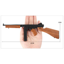 Thompson M1A1 Die Cast Mini Replica Rifle 3:1 Scale