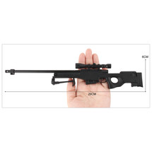 L96A1 AWM Metal Die Cast Sniper Replica 3:1 scale in Black