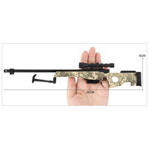 L96A1 AWM Metal Die Cast Sniper Replica 3:1 scale in Camo