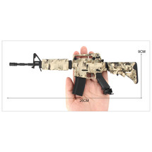 Colt M4A1 Die Cast Toy Replica Rifle 3:1 scale in Digital Camo