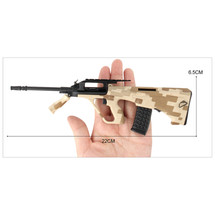 Steyr AUG Die Cast Toy Sniper Replica 3:1 scale in Desert Camo