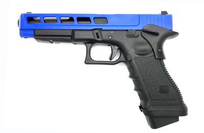 Army Armament R34-F Custom CNC Aluminum Slide in Blue