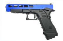 Army Armament R34-F Custom CNC Aluminum Slide in Blue