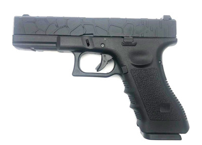 Army Armament R17-1 Custom Halfshell Top Slide in Black