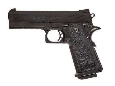 Tokyo Marui Custom 4.3 HI-CAPA GBB Airsoft Pistol in Black