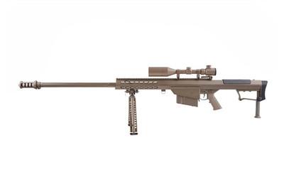 Snow Wolf SW-013 Barrett M107A1 with bipod in Tan