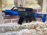 Army Armament R36K - G36K Gas Blowback Rifle With Scope in Blue