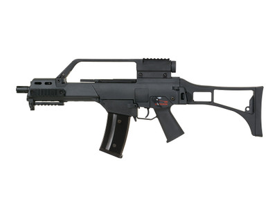 Army Armament R36K - G36K Gas Blowback Rifle With Scope in Black