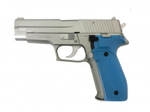 KWC 226 P226 Spring Sig Style pistol in blue and silver