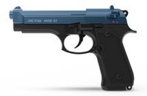 Retay Mod 92 - 9MM Blank Firing Pistol in Blue & Black