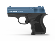 Retay T205 - 8MM Blank Firing Pistol in Blue