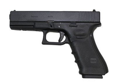 WE EU17 GEN 4 GBB - Gas Airsoft Pistol in Black