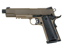 Army Armament R28-1 Kimber Warrior GBB Full Metal in Dark Earth/Tan