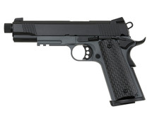 Army Armament R28-2 Kimber Warrior GBB Full Metal in Black/Gray