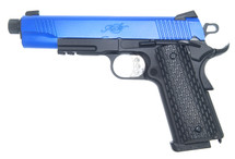 Army Armament R28-1 Kimber Warrior GBB Full Metal in Blue