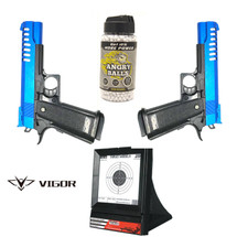 Vigor V302 Spring Pistol 2 Players Pack