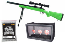 Well MB02 Sniper Rifle, Scope & Bi-Pod Deal