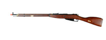 PPS Mosin Nagant 1891 Bolt Action Airsoft Sniper Rifle in Real Wood