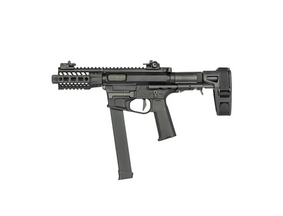 Ares AR-085E - M45X-S AEG Airsoft AEG Rifle in Black (short)