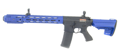 Cyma CM618 M4 SIA Custom Muzzle Break in Blue